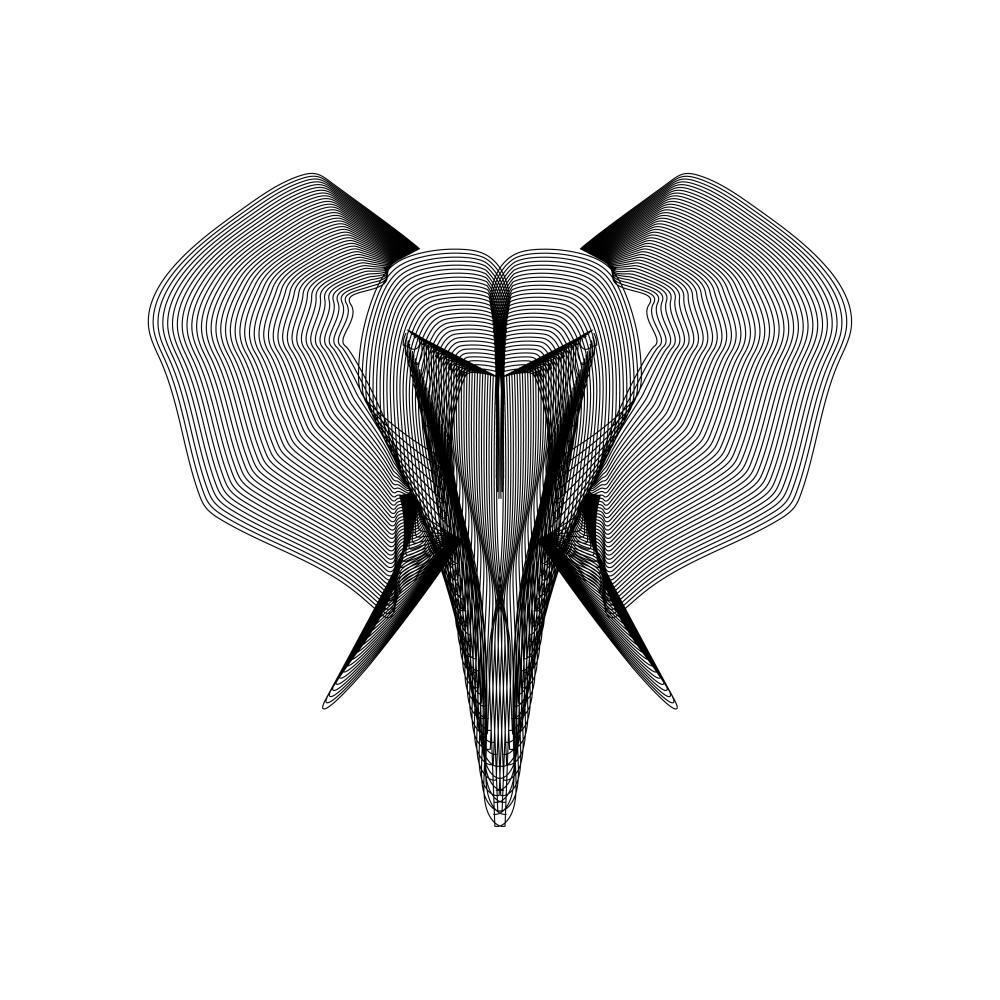 Vector_Xray_Elephant